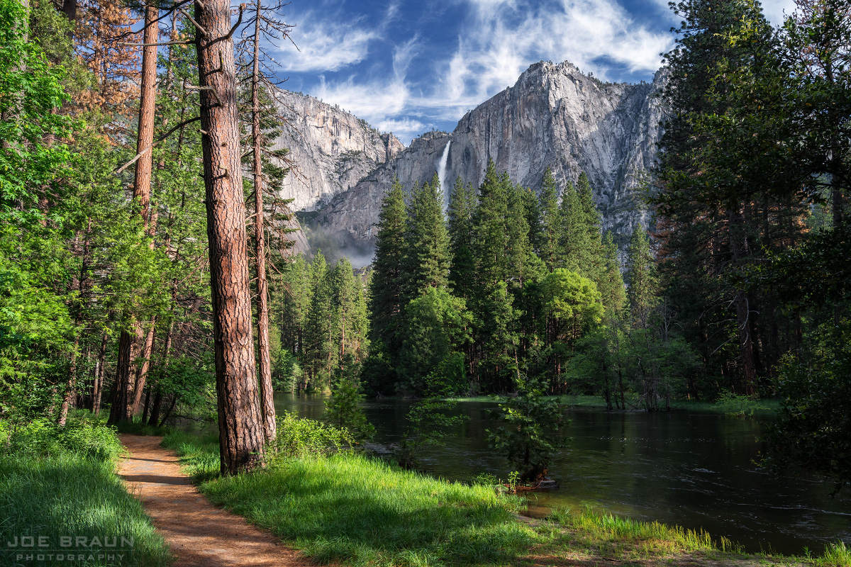 Walking Yosemite Valley instead of driving