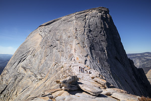 Hiking Half Dome Images