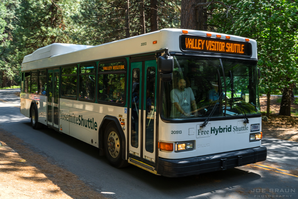 Yosemite Valley Shuttle Bus