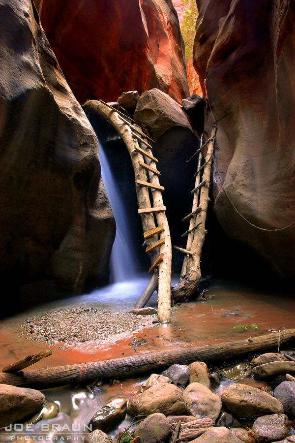 Kanarra Creek photo (Zion National Park) -- © 2004 Joe Braun Photography