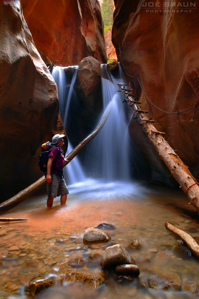 Kanarra Creek photo (Zion National Park) -- © 2006 Joe Braun Photography