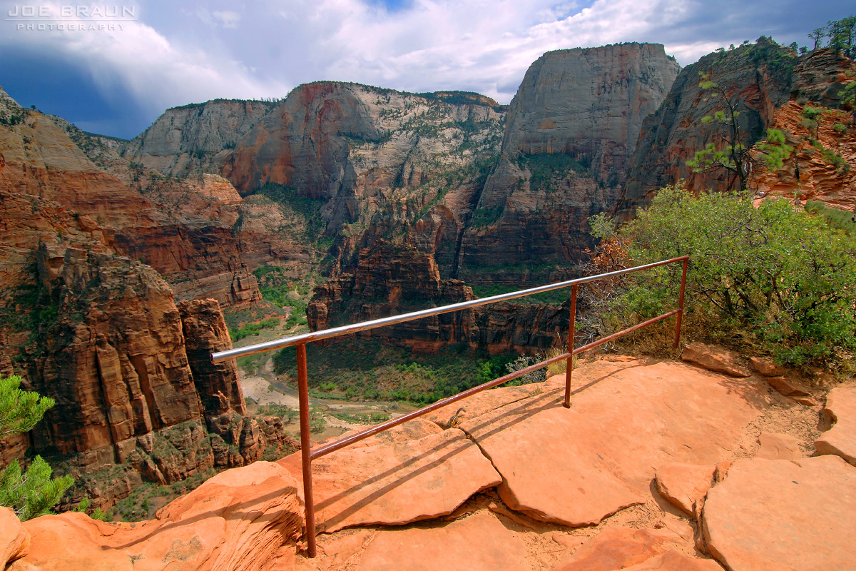 Angels Landing photo (Zion National Park) -- © 2007 Joe Braun Photography
