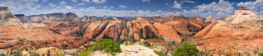Progeny Peak/Two-Pines Arch photo (Zion National Park) -- © 2009 Joe Braun Photography