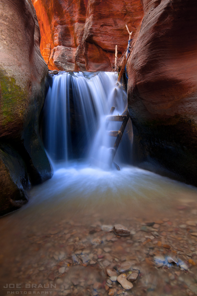 Kanarra Creek photo (Zion National Park) -- © 2010 Joe Braun Photography