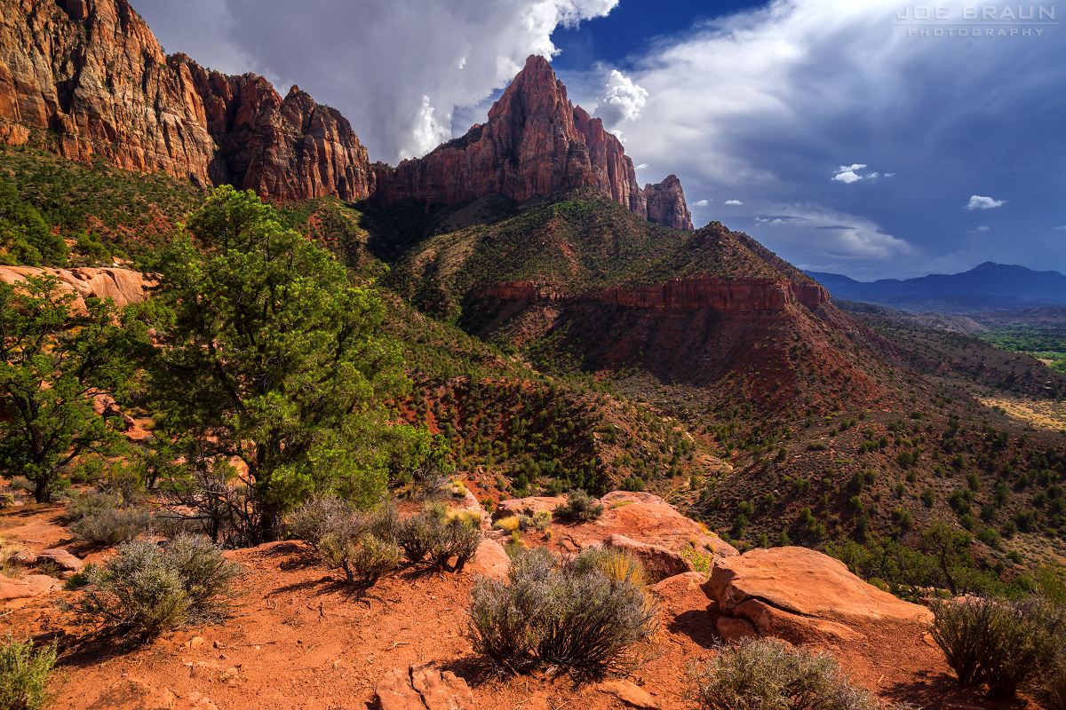 The Watchman Trail (Zion National Park) -- Photo © 2013 Joe Braun Photography