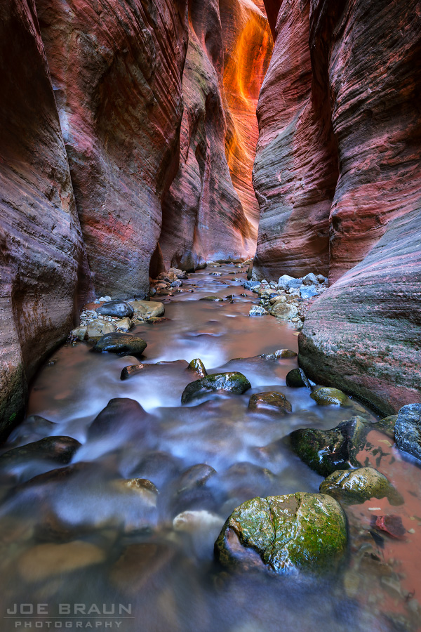 Kanarra Creek photo (Zion National Park) -- © 2014 Joe Braun Photography