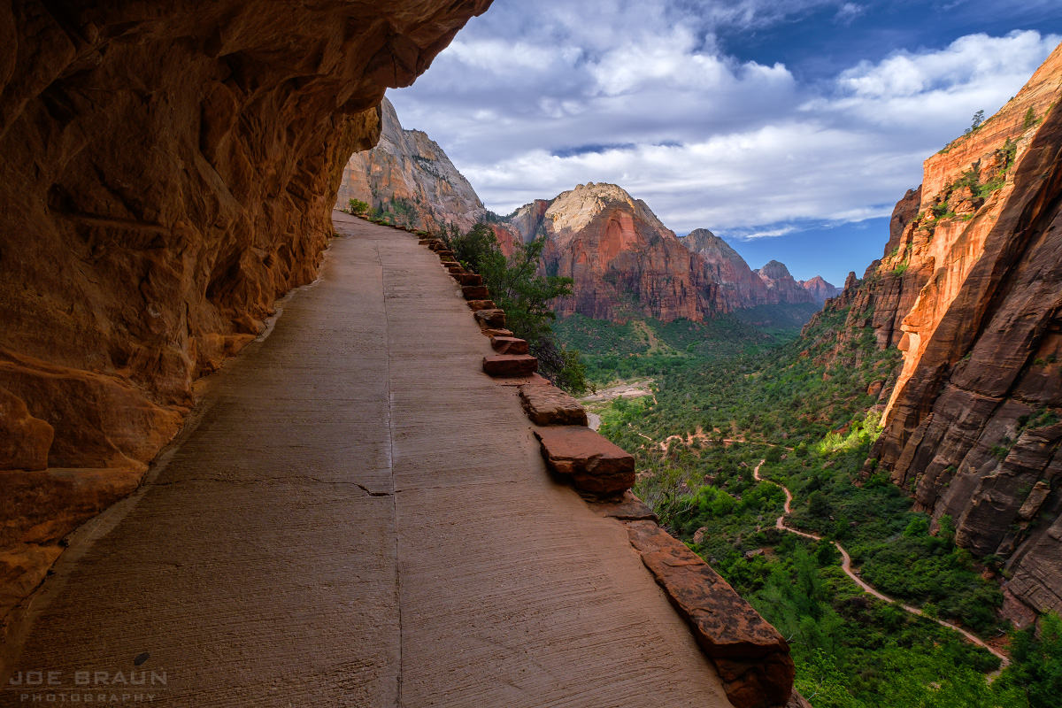 West Rim Trail photo (Zion National Park) -- © 2016 Joe Braun Photography