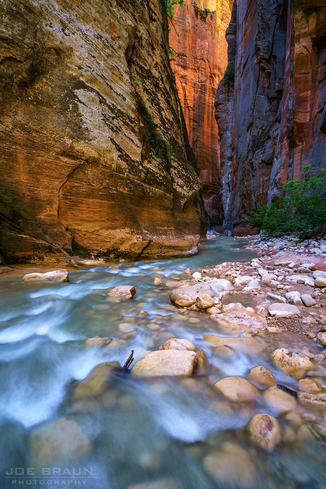 The Zion Narrows (Zion National Park) -- © 2017 Joe Braun Photography