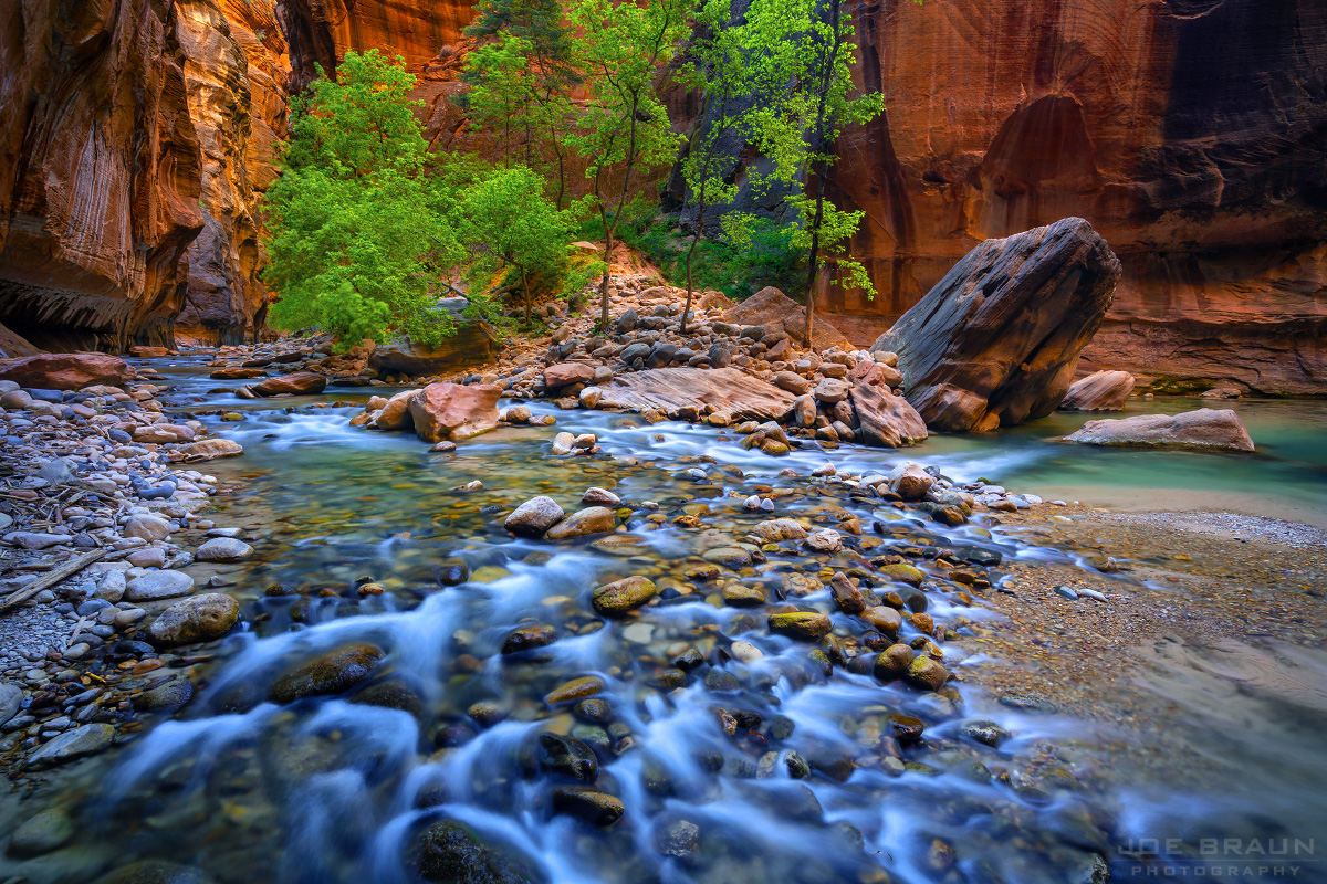 The Zion Narrows (Zion National Park) -- © 2018 Joe Braun Photography