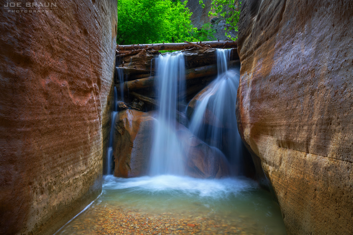 Zion Narrows Top Down Backpacking Route Hiking Guide Joe S Guide To Zion National Park